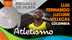 Rio 2016: Luis Fernando Lucumi Villegas (Colombia) Plata en Atletismo