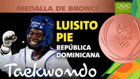 Rio 2016: Luisito Pie (Rep. Dominicana) Bronce en Taekwondo