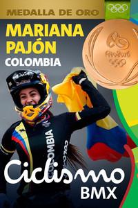 Rio 2016: Mariana Pajón (Colombia) Oro en Ciclismo BMX