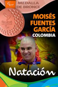 Rio 2016: Moisés Fuentes García (Colombia) Bronce en Natación